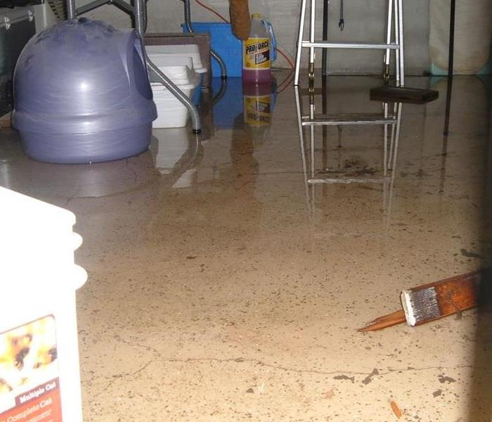 Servpro Category two Water Damage in dayton